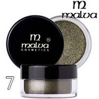 Malva - Пигменты M-491 тени для век Dramatic Chrome Eyeshadow Тон 07 beige sand шиммер