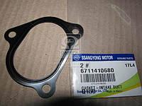 Провкладка заслонки (производитель SsangYong) 6711410680
