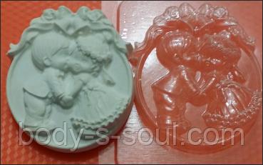 Пластиковая форма для мыла  Тили-тили тесто.