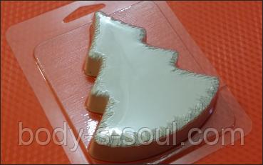 Пластиковая форма для мыла  елка