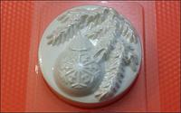 Пластиковая форма для мыла  шар на ветке