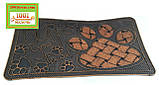 Придверні решіток гумовий килимок 70х40 див., фото 4