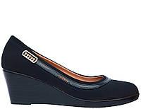 Женские туфли на танкетке, фото 1