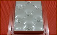 Пластиковая форма для мыла  Честер