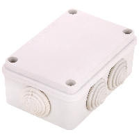 Коробка распределительная GreenVision 120х80х50 IP44 наруж. с рез