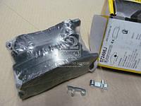 Колодки дискового тормоза (производитель Jurid) 572498J