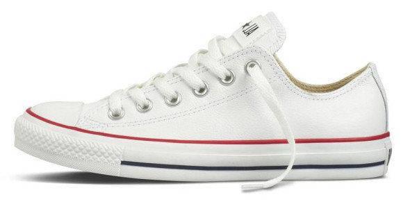 Женские кеды Converse All Star Low white, конверс . ТОП Реплика ААА класса., фото 2