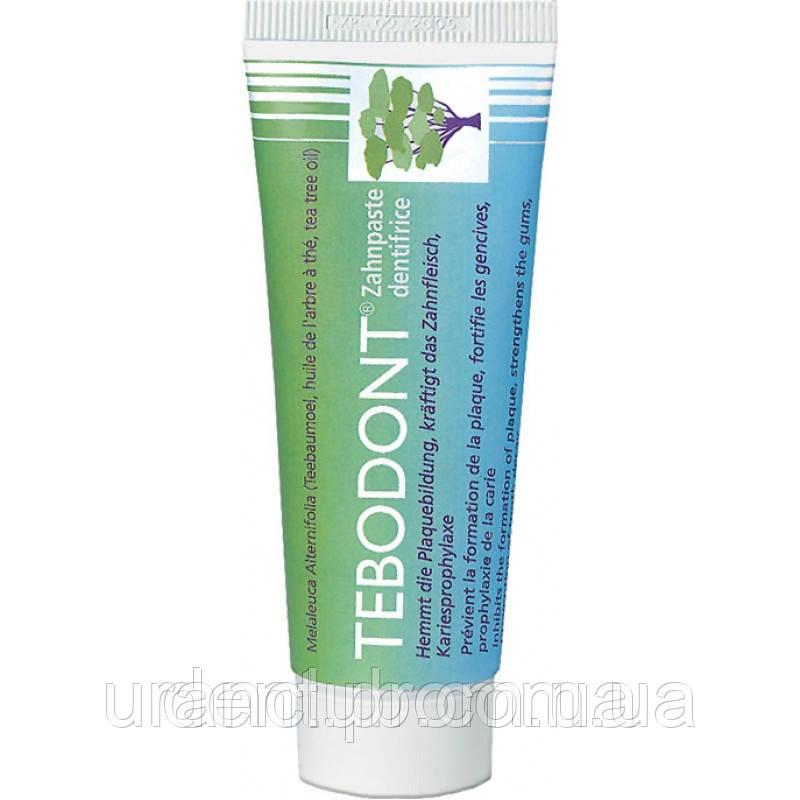 Зубная паста с маслом чайного дерева tebodont или TEBODONT-F , 75 мл
