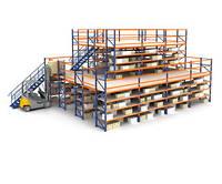 Многоэтажные стеллажи (мезонин)