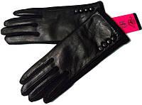 Перчатки женские натуральная кожа и трикотаж на флисе размер 6.5,7,7.5,8,8.5