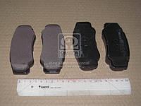 Комплект тормозных колодок, дисковый тормоз 252392120