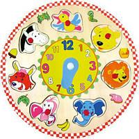Головоломка часы Животные, 88062, Bino