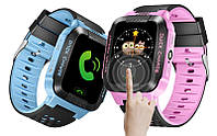 Детские часы Smart watch G51 розовые и голубые, фото 1