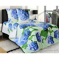 Ткань для постельного белья, бязь (хлопок) Гортензия