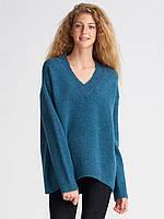 Пуловер Oversize в синем цвете