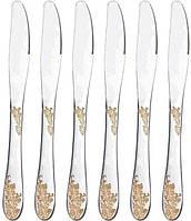 Набор 6 столовых ножей Luxberg Golden Bough
