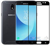 Защитное стекло Tempered Glass 3D Full Cover Samsung J530 Galaxy J5 2017 Black