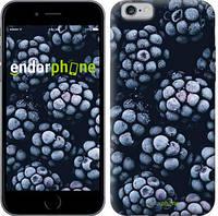 """Чехол на iPhone 6s Морозная ежевика """"2744c-90-8079"""""""