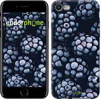 "Чехол на iPhone 7 Морозная ежевика ""2744c-336-8079"""
