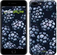 """Чехол на iPhone 7 Plus Морозная ежевика """"2744c-337-8079"""""""