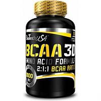 Аминокислоты BioTech BCAA 3D, 90 капс.