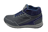 Кроссовки зимние на меху подростковые   37 Comfort Blue