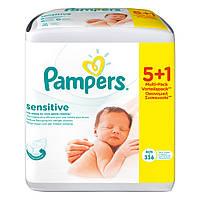 Салфетки 5 +1 Мультипак Pampers Sensitive