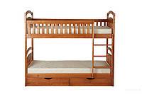 Кровать двухъярусная «Карина» ( с 2-мя ортопедическими матрасами и 2-мя ящиками 12х61х71см)