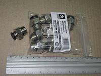 Соединитель аварийный металлический ( наружный резьба) M16x1.5 d-8 трубки ПВХ  02.210.7034.080