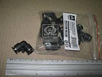 Соединитель аварийный угловой 8х8 пластиковая трубки ПВХ  02.090.7840.030