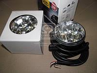 Фары DRL LED кпластик левая+ правая 12/24V 2*3W (производитель Magneti-Marelli) LAQ010