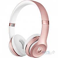 Наушники (гарнитура) Beats by Dr. Dre Solo 3 Wireless Rose Gold (MNET2)