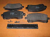 Колодка тормозная SUBARU FORESTER (SF), IMPREZA передний (производитель TRW) GDB3217