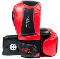 Перчатки боксерские (кожа) POWERPLAY PLATINUM 10 oz PP3020R-10