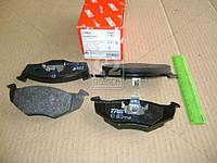 Колодка тормозная SEAT IBIZA IV (6L1), SKODA FABIA (6Y2) передний (производитель TRW) GDB1274