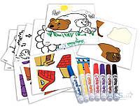 Игра Crayola Mini Kids Набор для творчества Мой первый пазл-наклейка (81-8113)