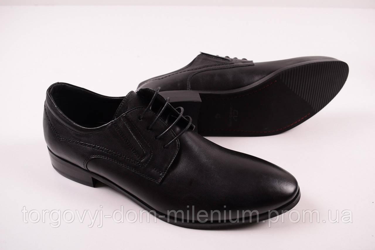 Туфли мужские из натуральной кожи (цв.черный) KADAR 3150624 Размер ... 3a577163a0e