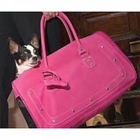 Сумка-переноска Pet Voyage 26038 Barcelona (Барселона) для котов и собак ярко-розовая