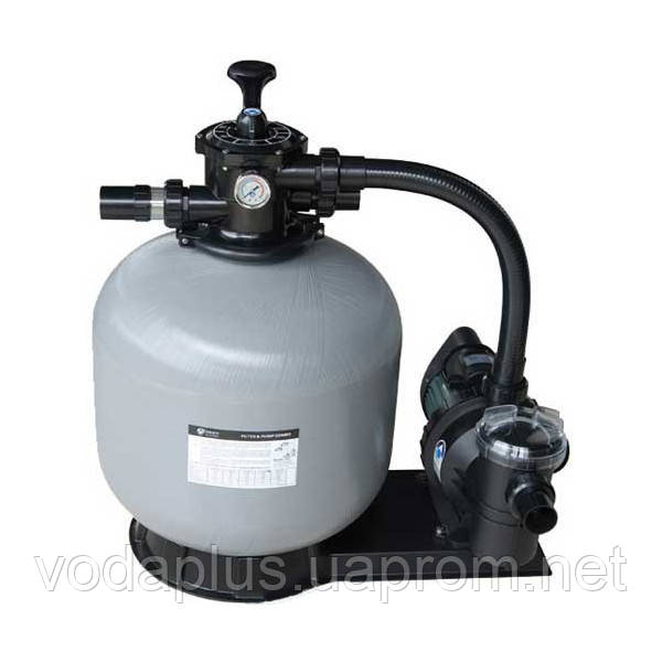 Фильтрационная установка для бассейна Emaux  FSF 500 11,1м³/час с насосом SC100, фото 1
