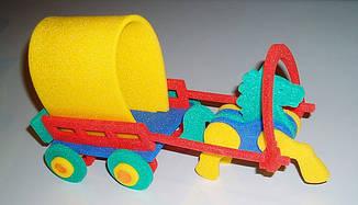 Матеріали для виробництва об'ємних іграшок з спіненого поліетилену