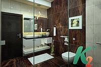Дизайн интерьера ванной комнаты, Киев (3DsMax+Corona), фото 1