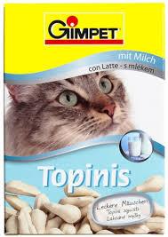 Витаминизированные лакомства для котов ДжимКет Топиник (Gimpet Cat Topinis) 180 шт