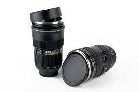 Кружка-термос в виде объектива The lens  cup