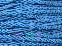 Канат крученый капрон 3,1мм, синий