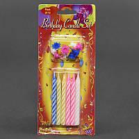 Свечи для торта праздничные С 23464 (576) 12шт в упаковке, 7см