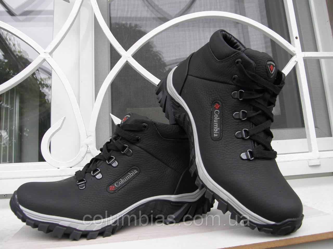 Зимние ботинки Collumbia кожа