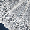 Купить тюль онлайн с вышивкой korela хамелеон с люрексом