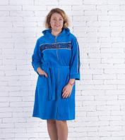Велюровый красивый халат на девушку