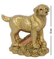 Статуэтка Собачка на монетах с сундуком 5 см. Символ 2018 года