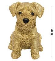 Статуэтка Собачка Шнауцера 16 см. Символ 2018 года